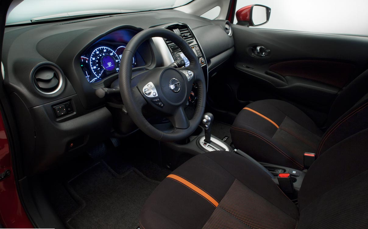 Interior Nissan Note SR