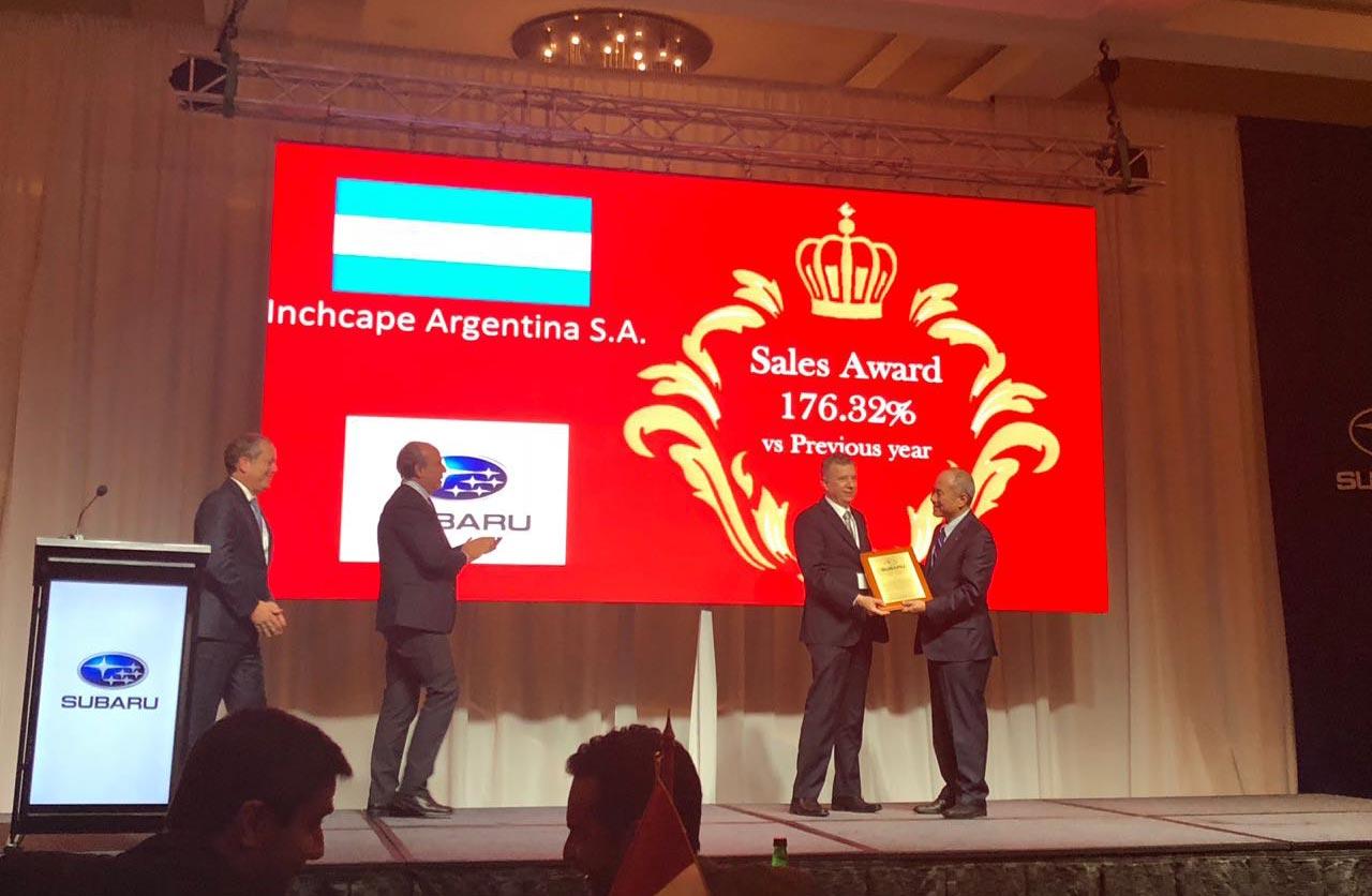 Subaru Argentina, reconocida por su crecimiento