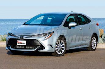 Nuevas proyecciones del futuro Toyota Corolla