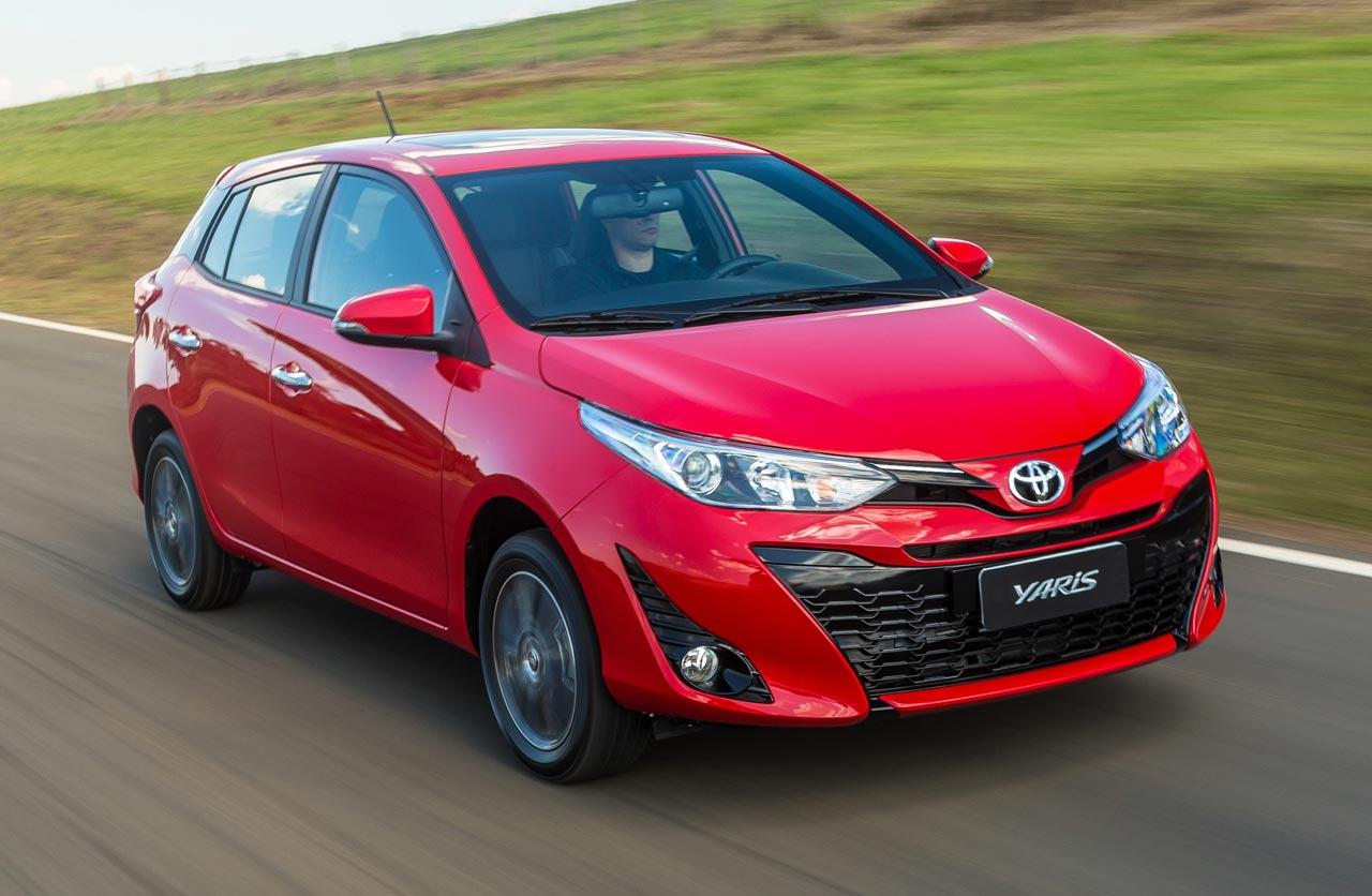 el nuevo toyota yaris ya es brasile o y llegar a argentina mega autos. Black Bedroom Furniture Sets. Home Design Ideas