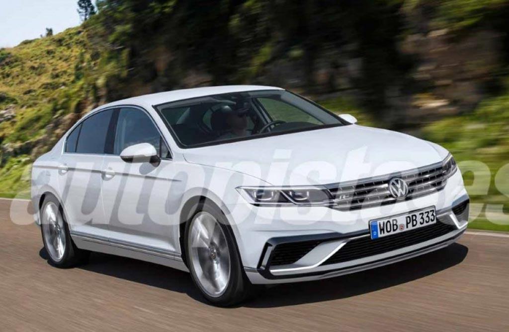 Se vienen cambios para el Volkswagen Passat