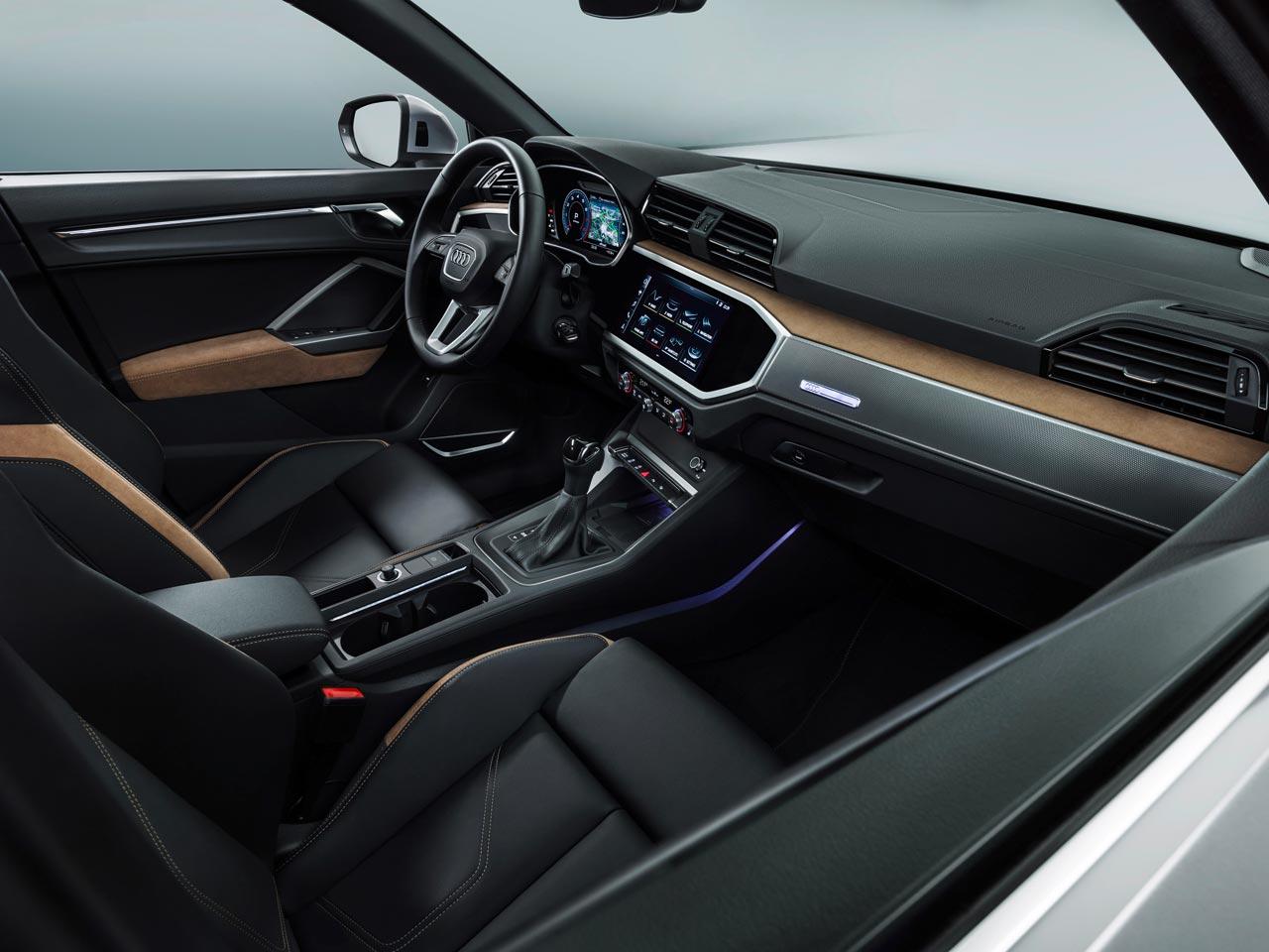 Interior nuevo Audi Q3 2019
