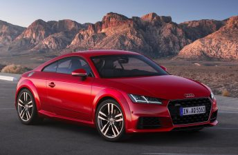 Audi renovó la última generación del TT