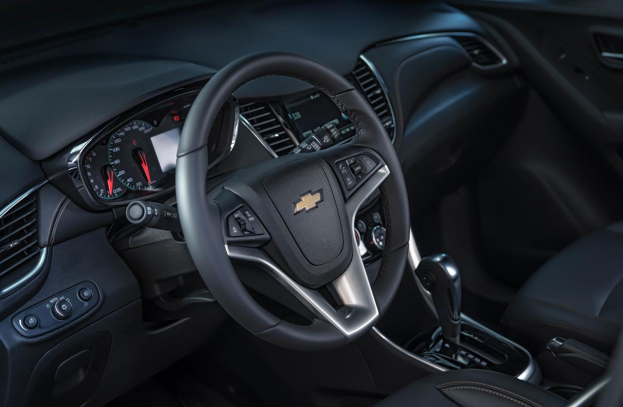 Interior Chevrolet Tracker Midnight