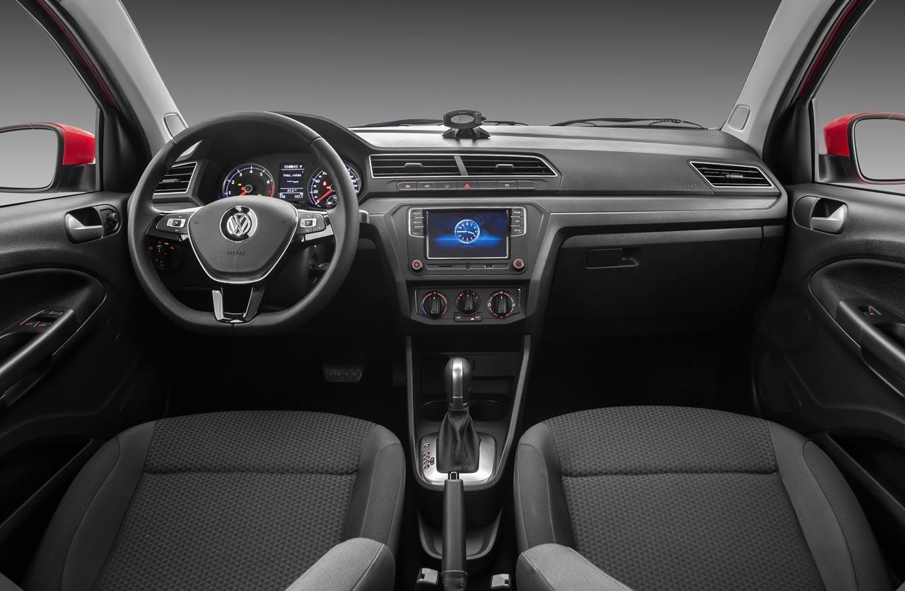 Interior VW Gol y Voyage caja automática