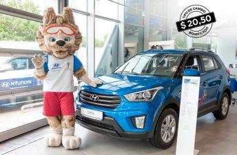 Hyundai mantiene el tipo de cambio congelado a 20,50 pesos hasta la final del mundial