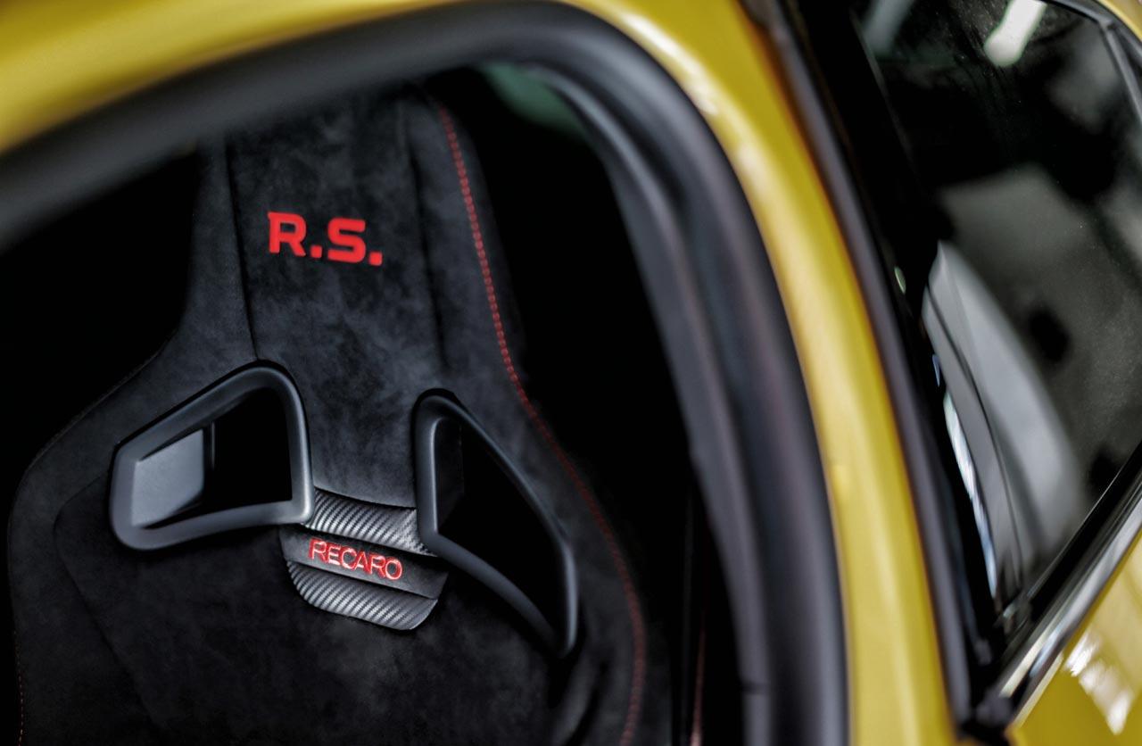 Butacas Recaro Renault Mégane R.S. Trophy