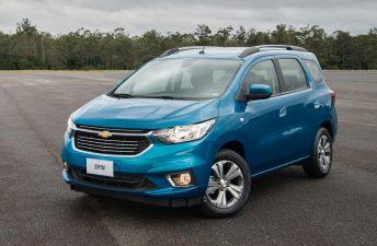 Chevrolet lanzó el Spin 2019 en Argentina