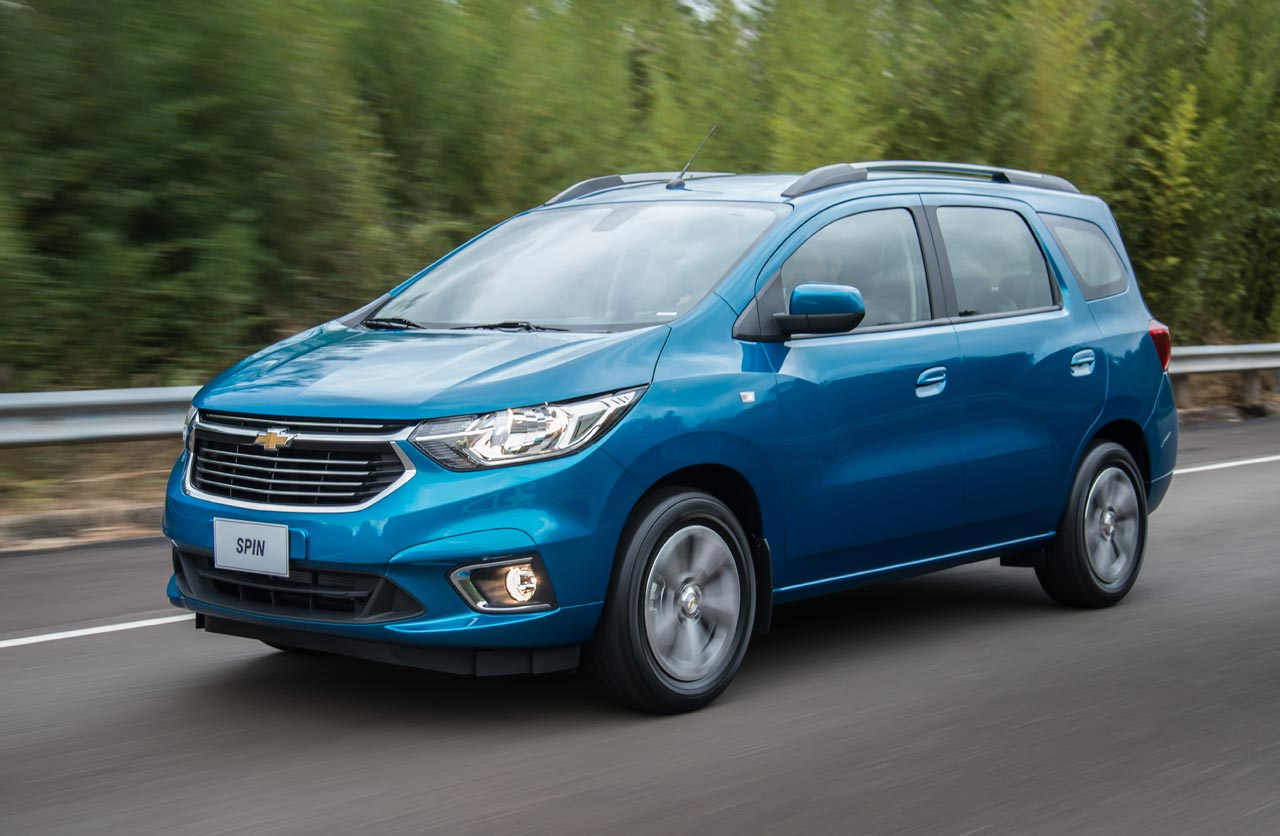 Chevrolet Spin 2019 (restyling)