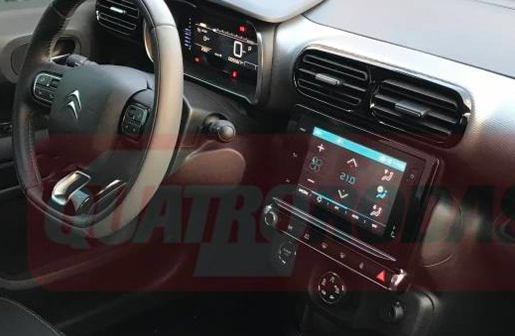 Interior Citroën C4 Cactus brasileño
