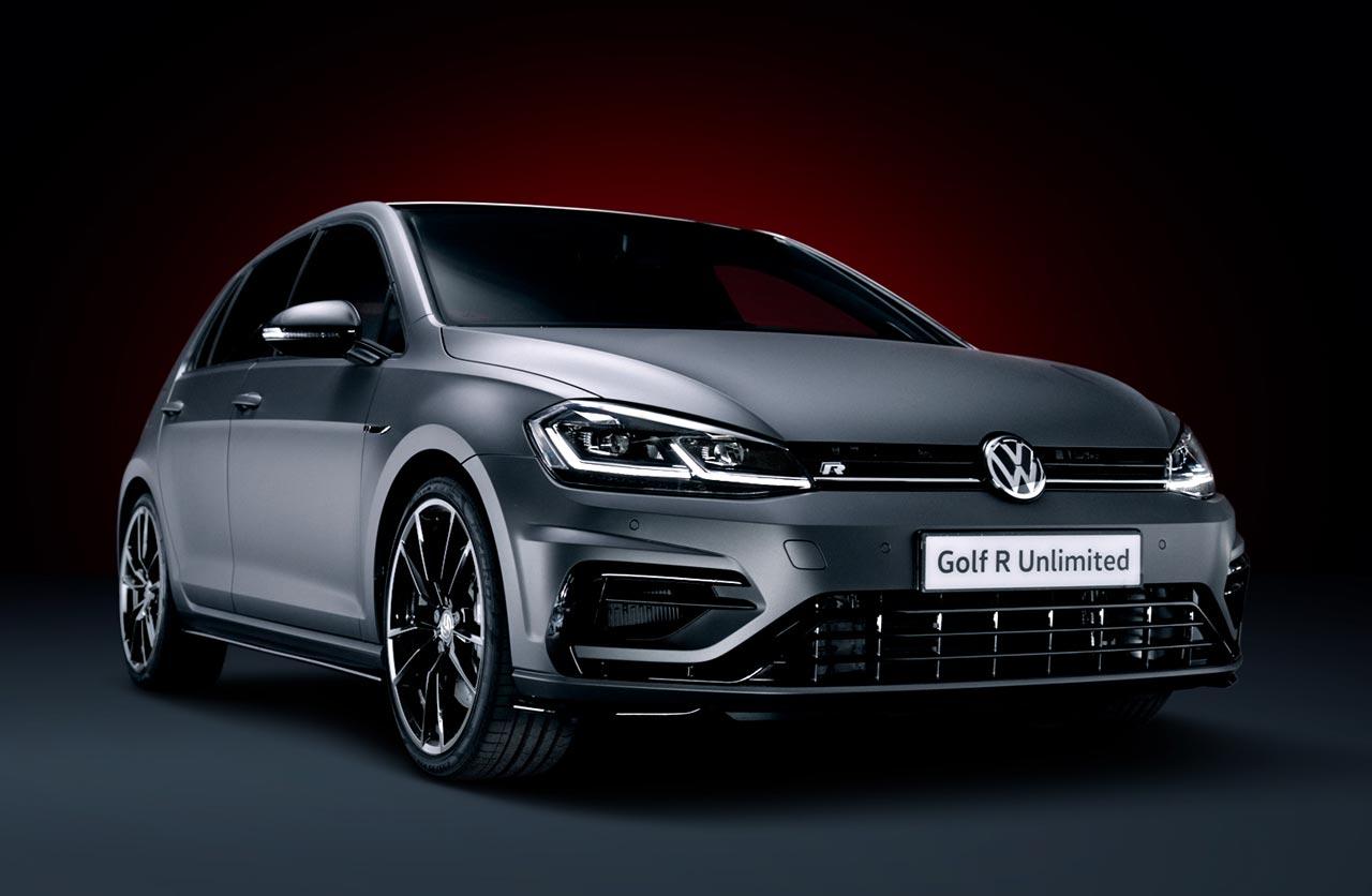 Unlimited: aún más carácter para el Volkswagen Golf R