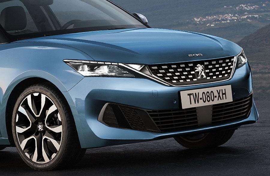 ¿Será así el futuro Peugeot 208?