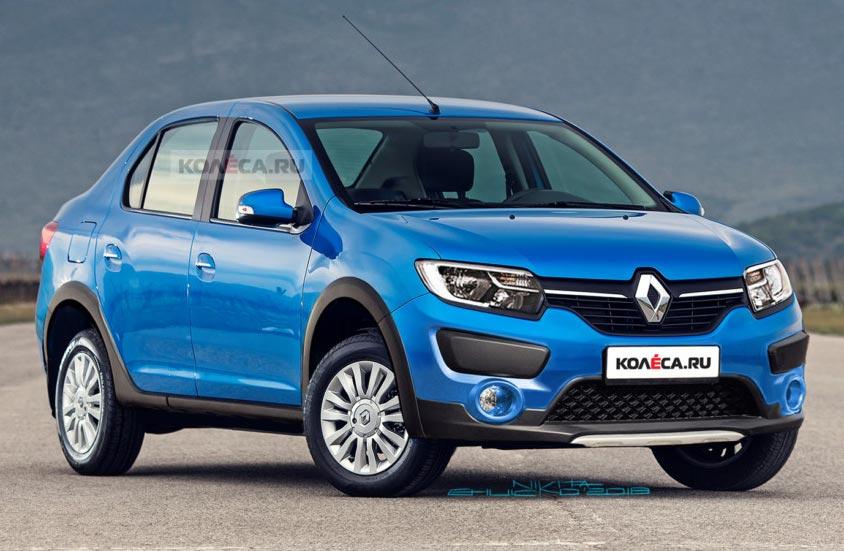 Inédito: un Renault Logan aventurero