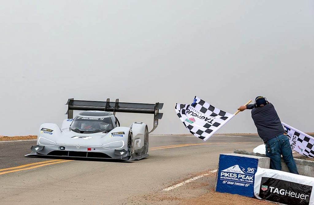 Récord de todos los tiempos: Volkswagen hace historia con el I.D. R Pikes Peak