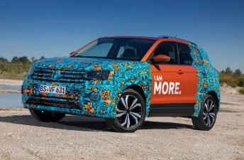 Volkswagen T-Cross, en Argentina en 2019