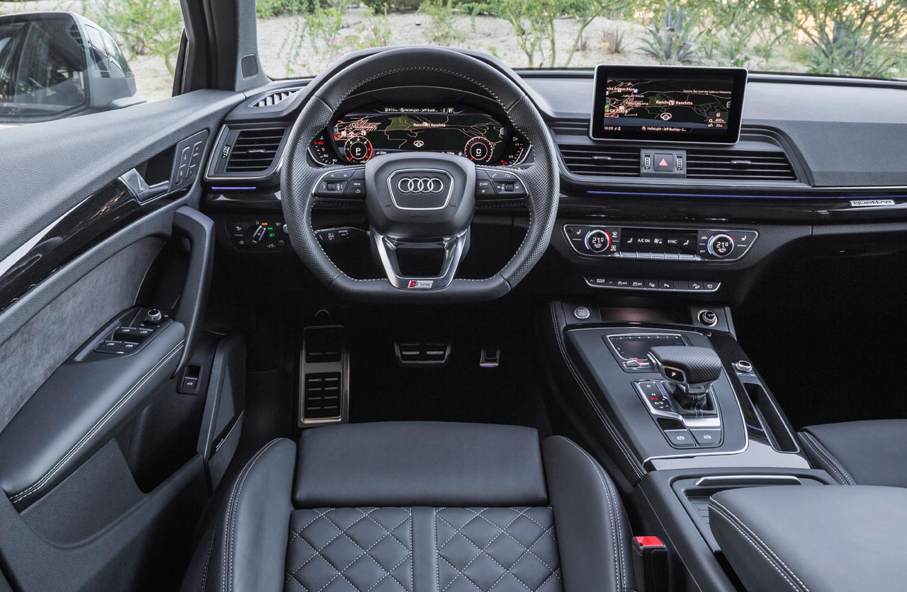 Interior Audi Q5 Security