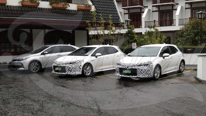 Toyota Corolla hatchback en Brasil
