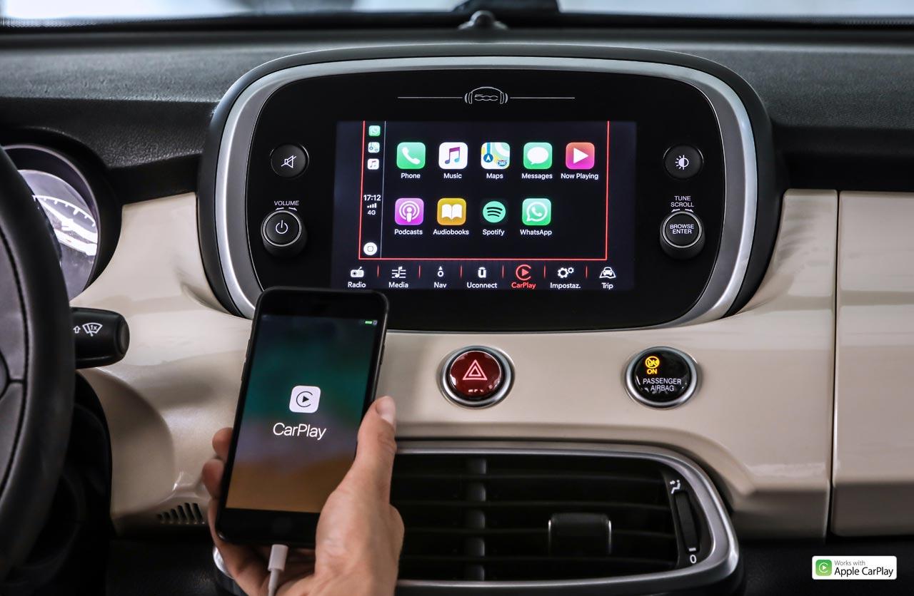Interior Fiat 500X 2019