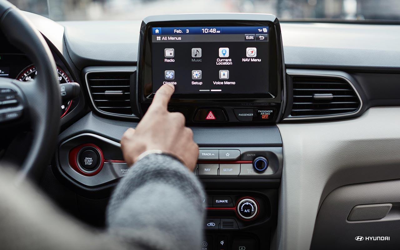 Interior Hyundai Veloster Turbo 2019