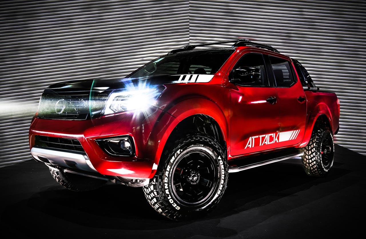 Anticipan la versión Attack de la Nissan Frontier nacional