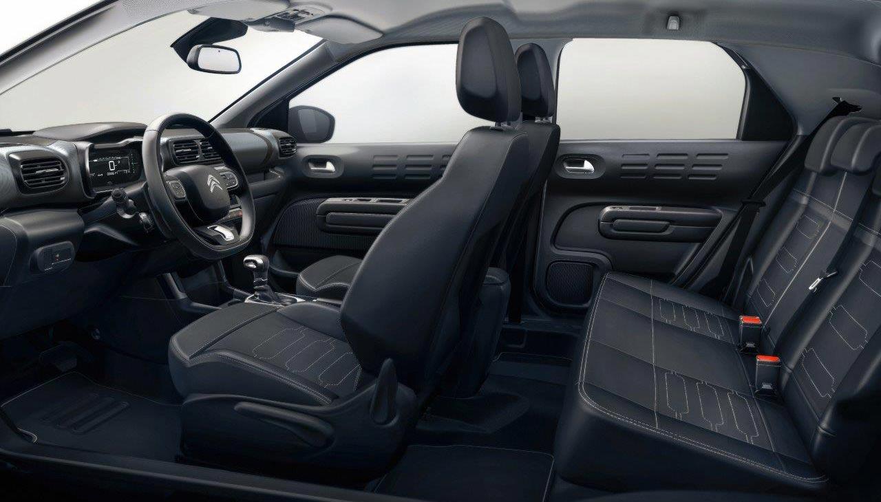Interior nuevo Citroën C4 Cactus