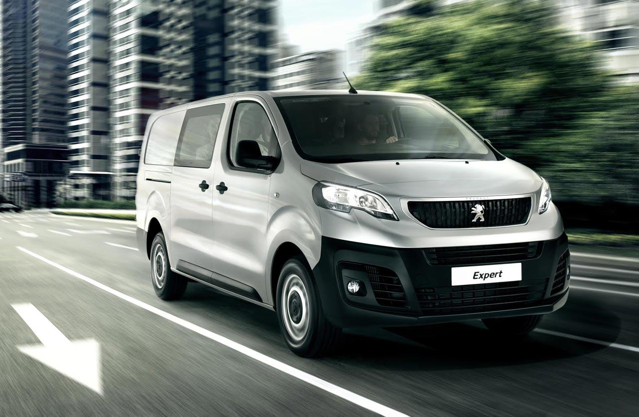 Peugeot Expert, también con seis plazas