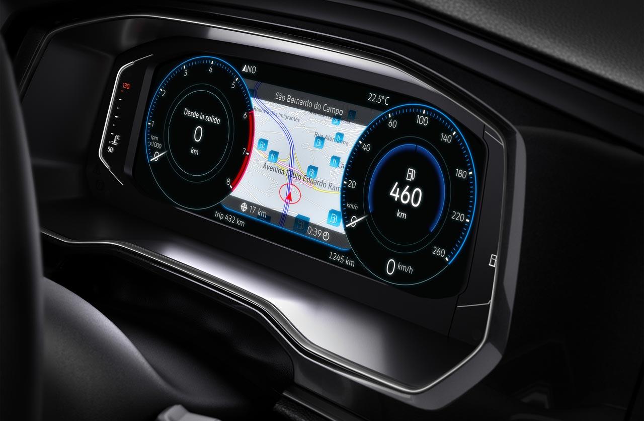 Tablero digital nuevo Volkswagen Vento