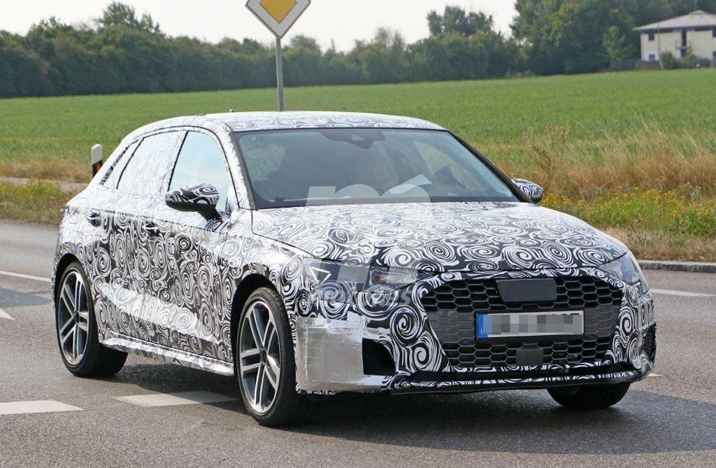 Primeras imágenes del próximo Audi A3