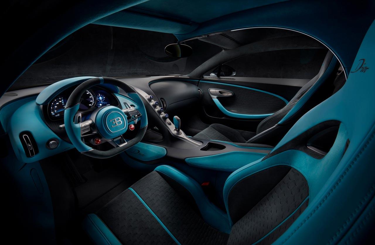 Interior Bugatti Divo