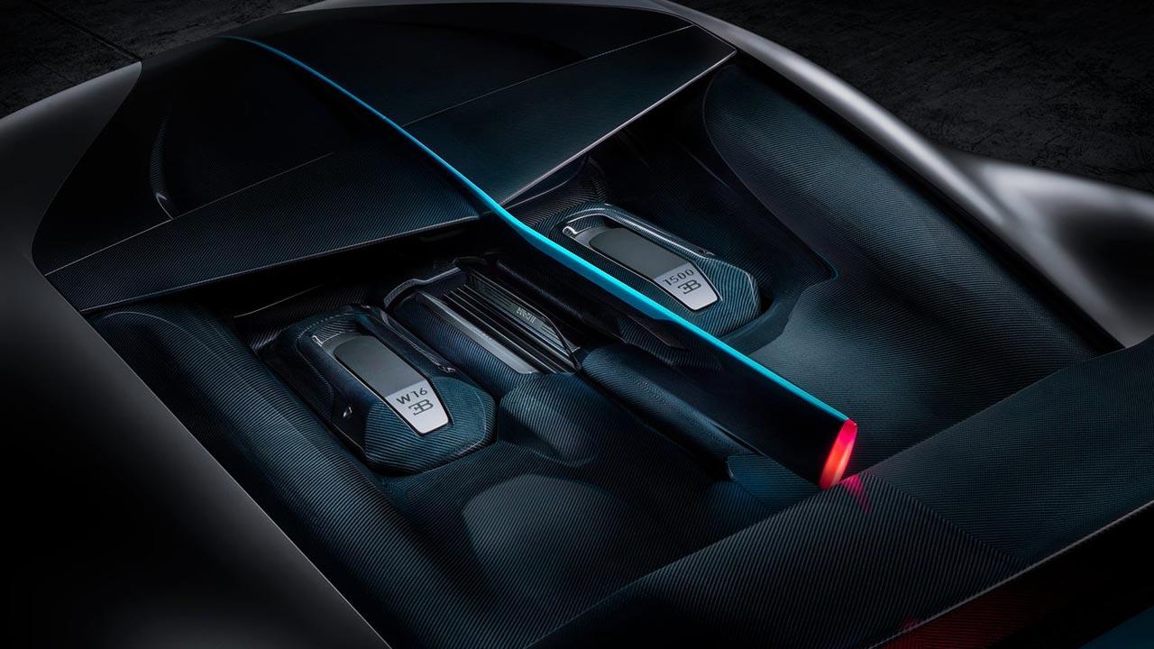 Motor Bugatti Divo