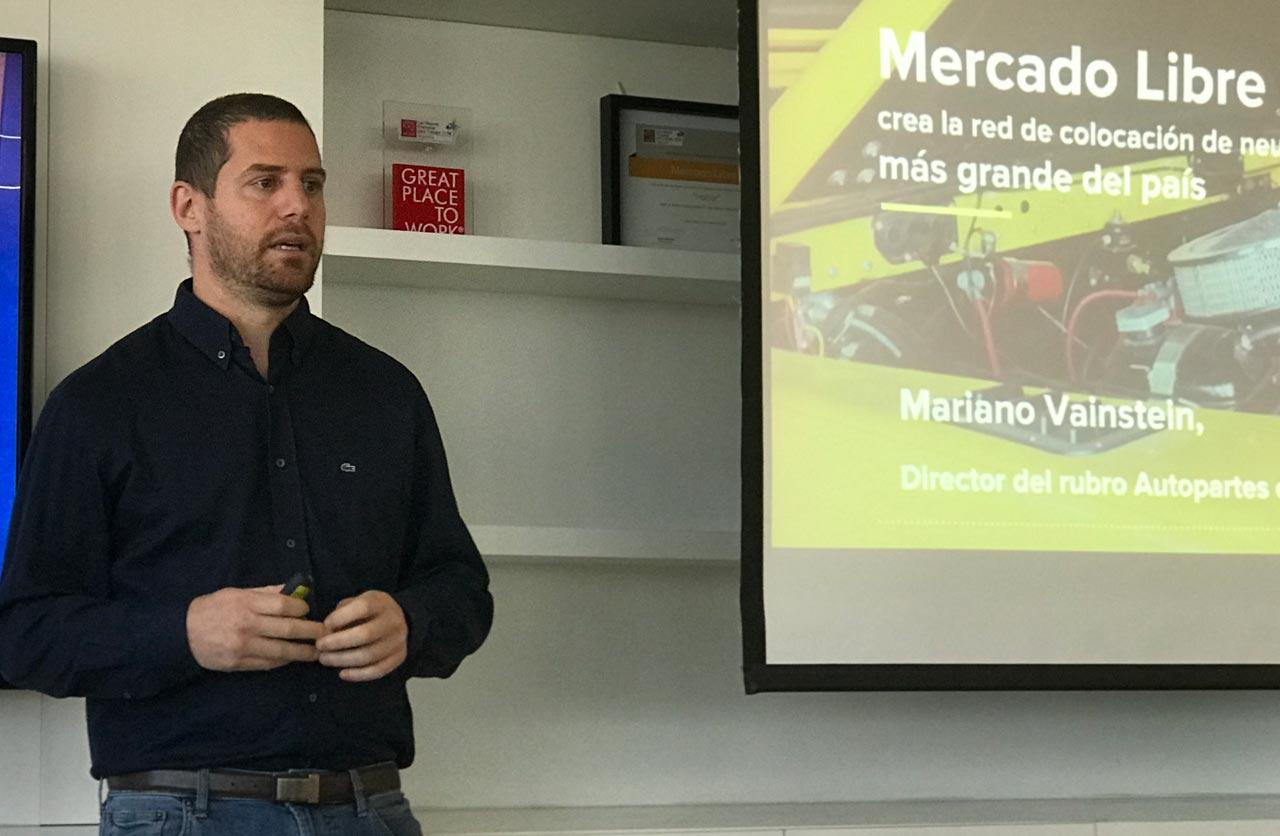 Mariano Vainstein, Director de la categoría autopartes en Mercado Libre
