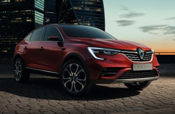 El Renault Arkana va tomando forma en Brasil