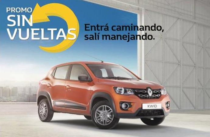 Una promo que entrega 10 Renault Kwid 0km como premio