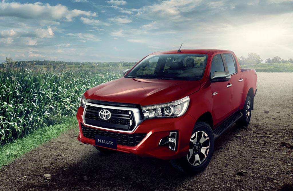 restyling Toyota Hilux 2019