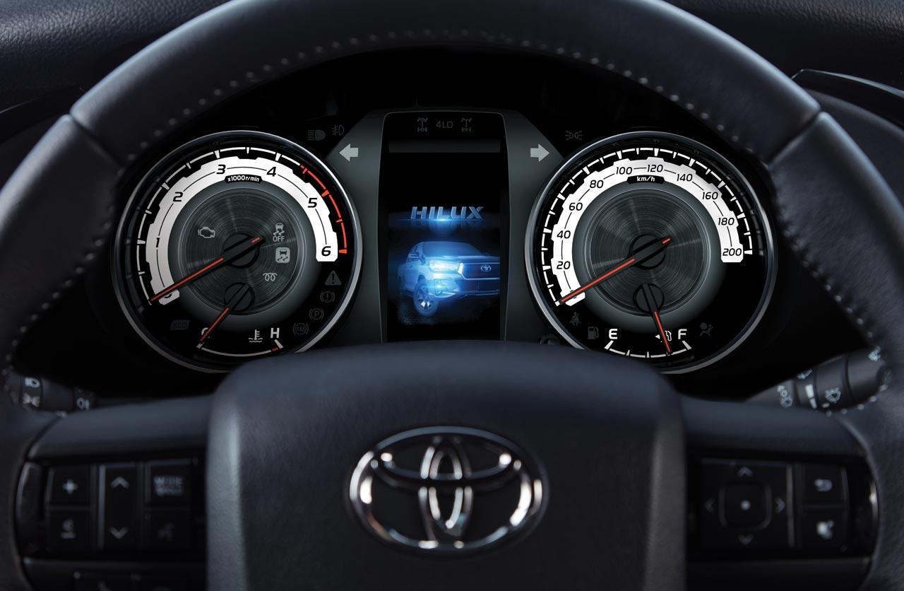 Tablero Toyota Hilux 2019