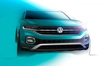 """Con ustedes, la """"cara"""" del Volkswagen T-Cross"""