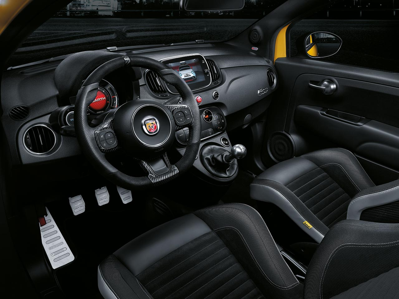 Interior Abarth 595 2019