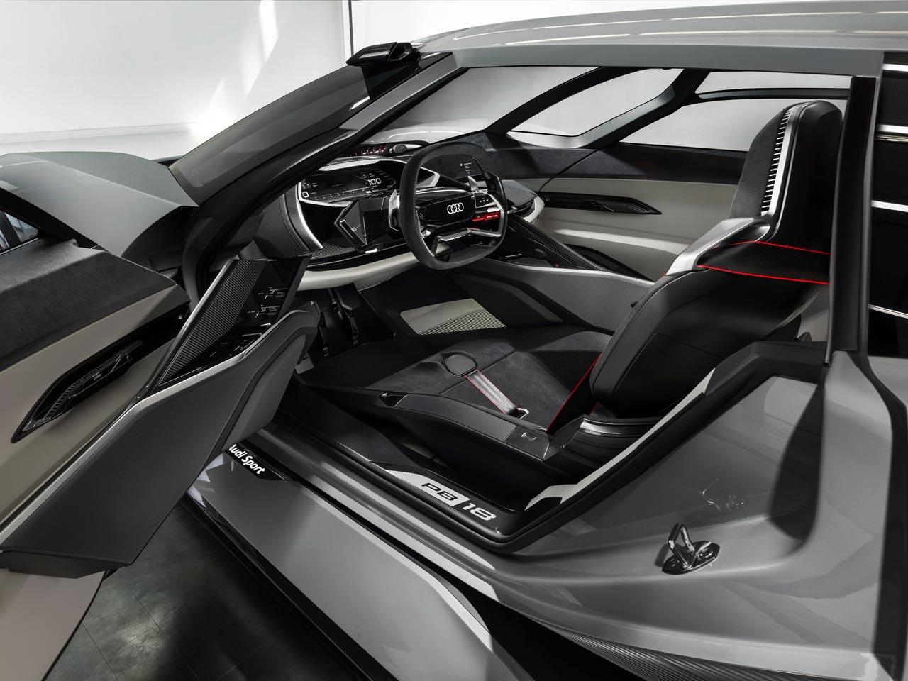 Interior Audi PB18 e-tron