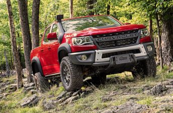 Una pick up de Chevrolet para el off road extremo