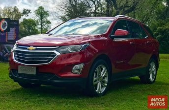 El Chevrolet Equinox llegó al mercado argentino