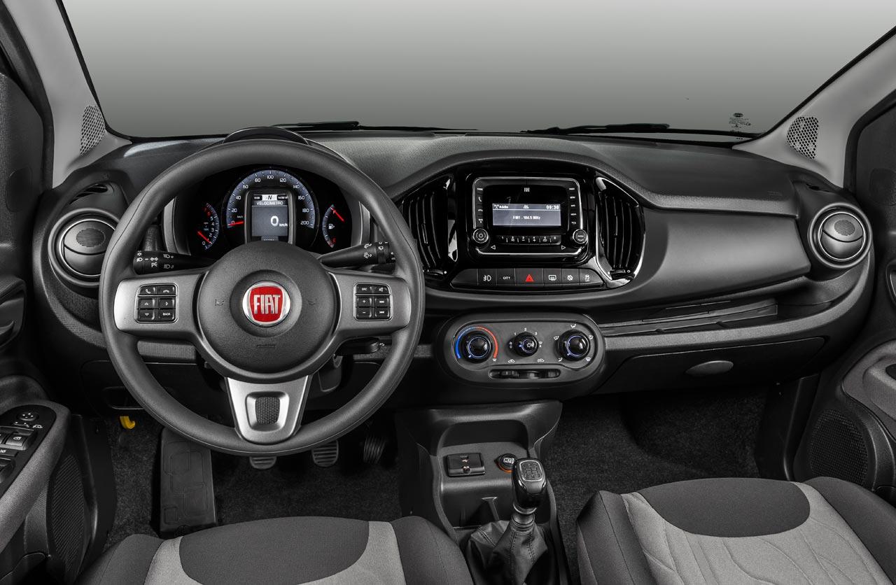 Interior Fiat Uno Way
