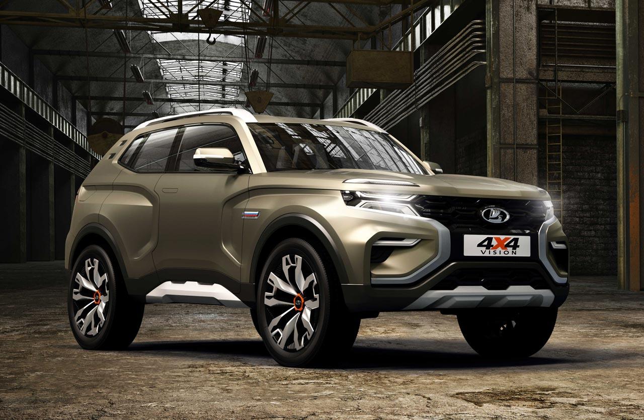 Con el 4×4 Vision, el SUV del futuro de Lada