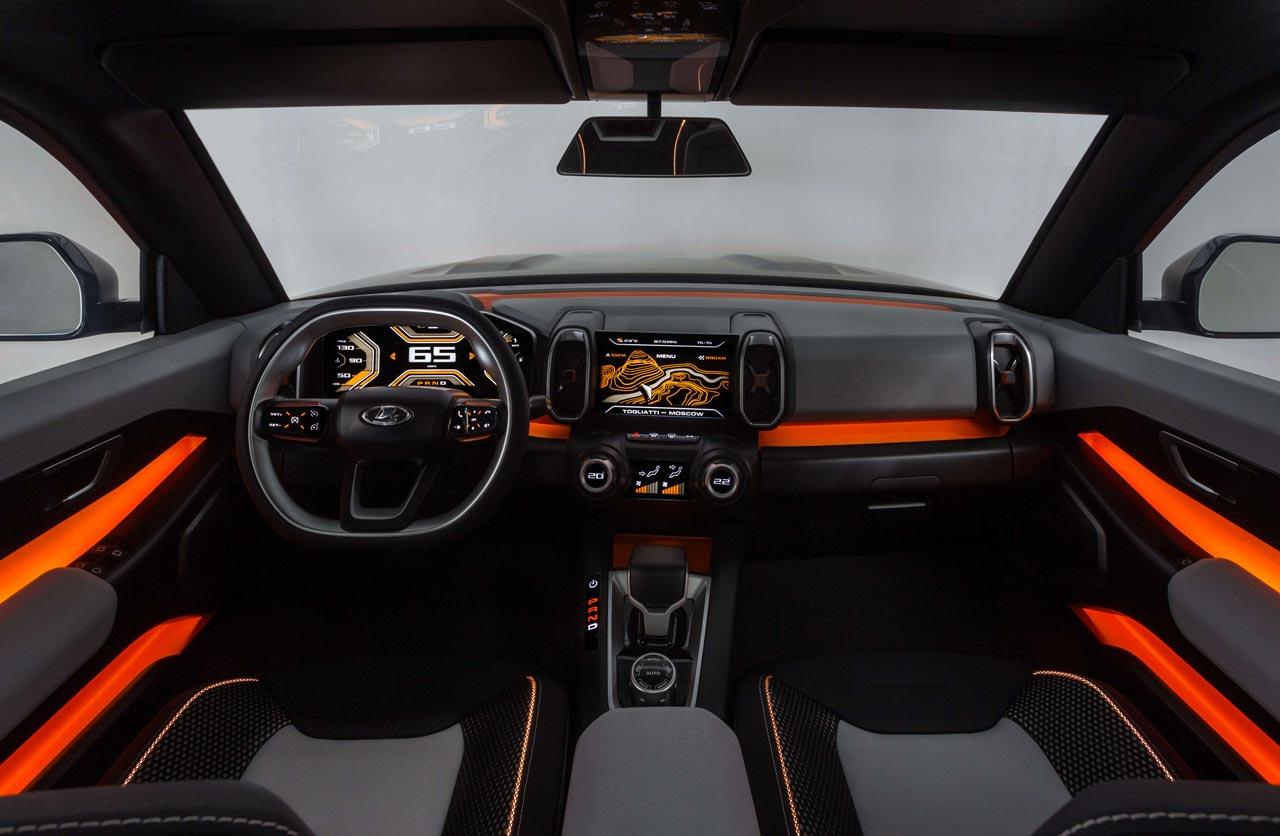 Interior Lada Vision 4x4