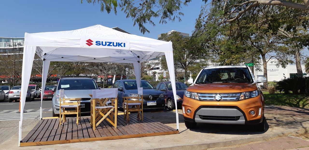 Suzuki test drive en Nordelta