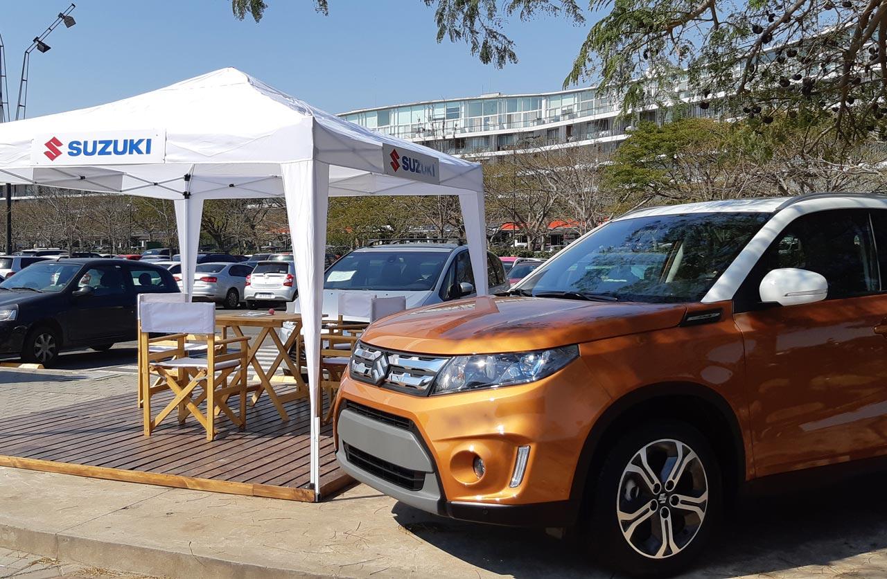 Exhibición y Test Drive de Suzuki en Nordelta