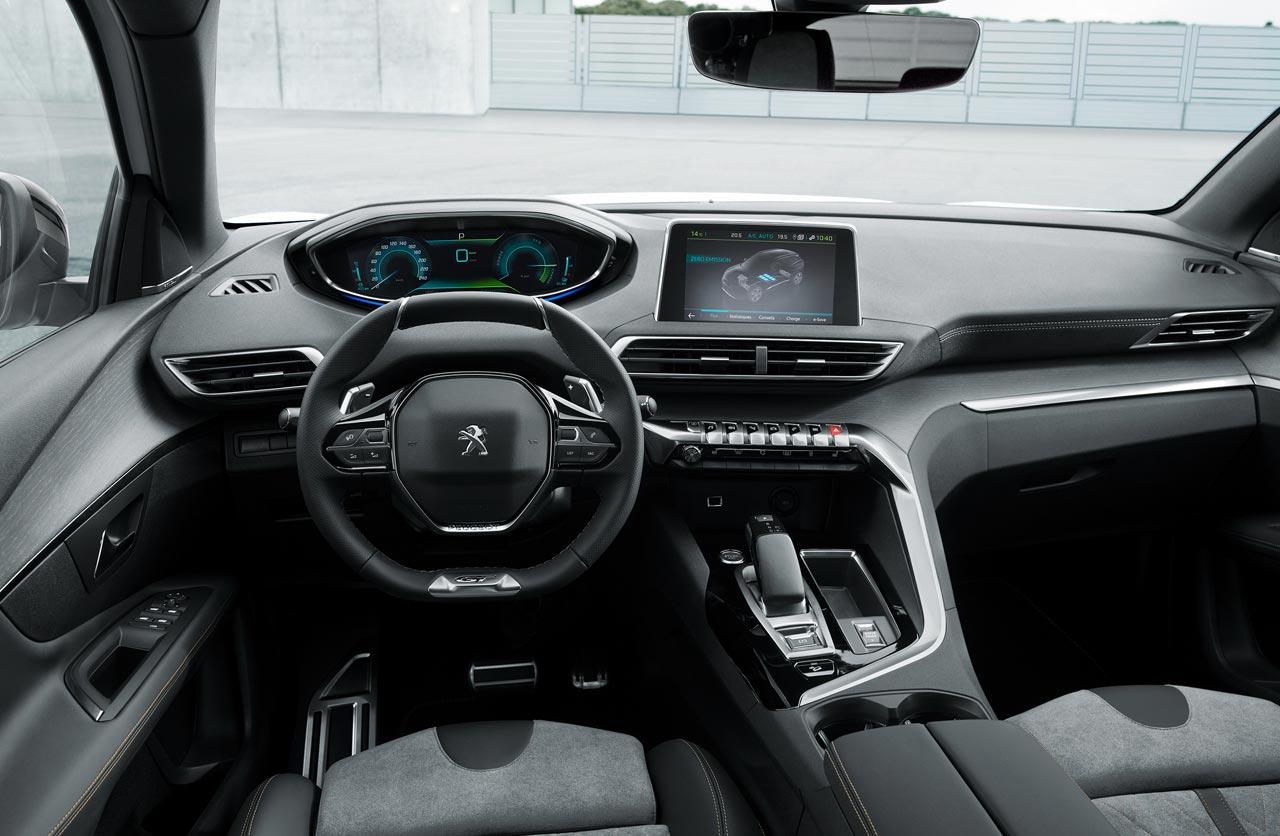 Interior Peugeot 3008 Hybrid4