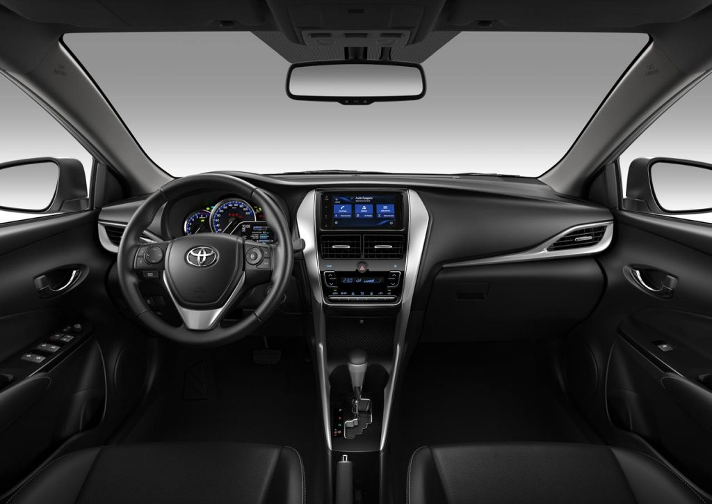 toyota yaris 2019 interior 1 mega autos. Black Bedroom Furniture Sets. Home Design Ideas