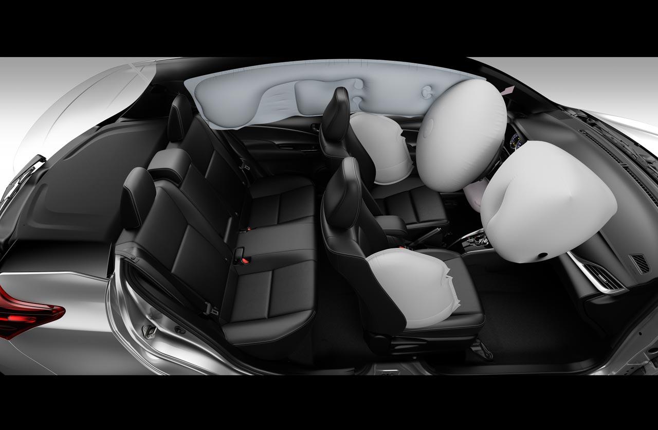 Interior Toyota Yaris 2019