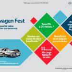 Volkswagen Fest: precios especiales y beneficios en toda la gama