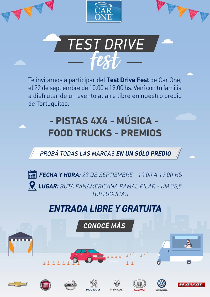 Car One Test Drive Fest